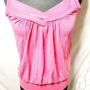 Romy Tops - Romy Pink Tank Top Size XS
